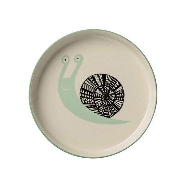 Farfurie din ceramică pentru copii Bloomingville Marius, ⌀ 14 cm