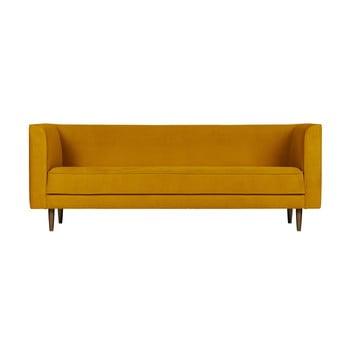 Canapea cu 3 locuri vtwonen Studio, galben ocru de la vtwonen