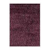 Fialový koberec s dlouhým vlasem Linie Design Sprinkle, 160x230cm