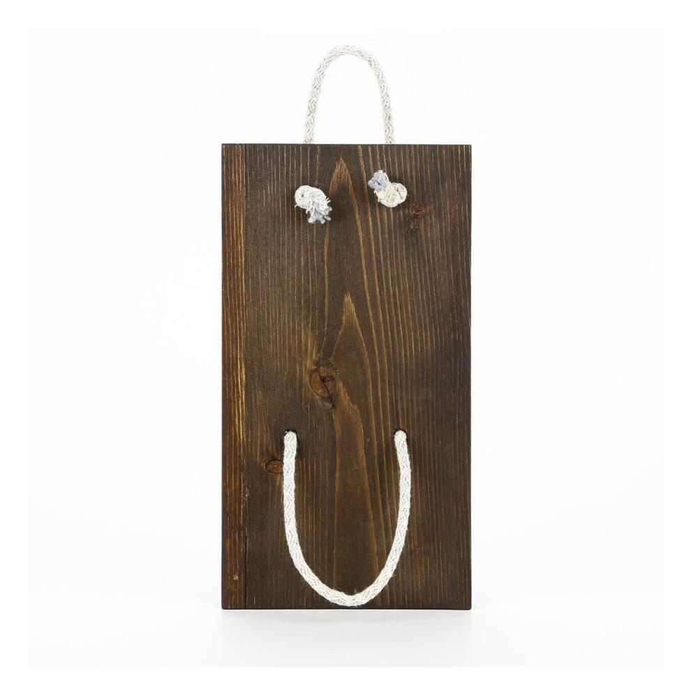 Dřevěný závěsný držák Raffa