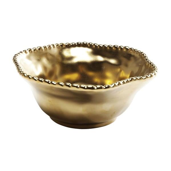 Bol Kare Design Bell Gold, ⌀ 16 cm, auriu