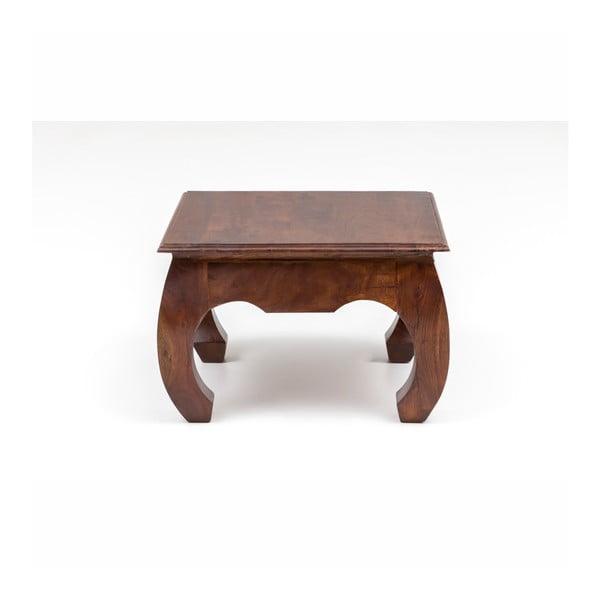 Konferenční stolek z akáciového dřeva WOOX LIVING Bali, 60x60cm