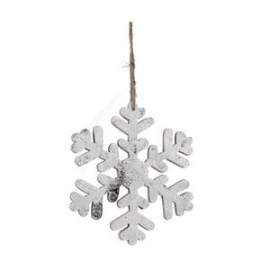 Závěsná dekorace ve tvaru sněhové vločky Ego Dekor