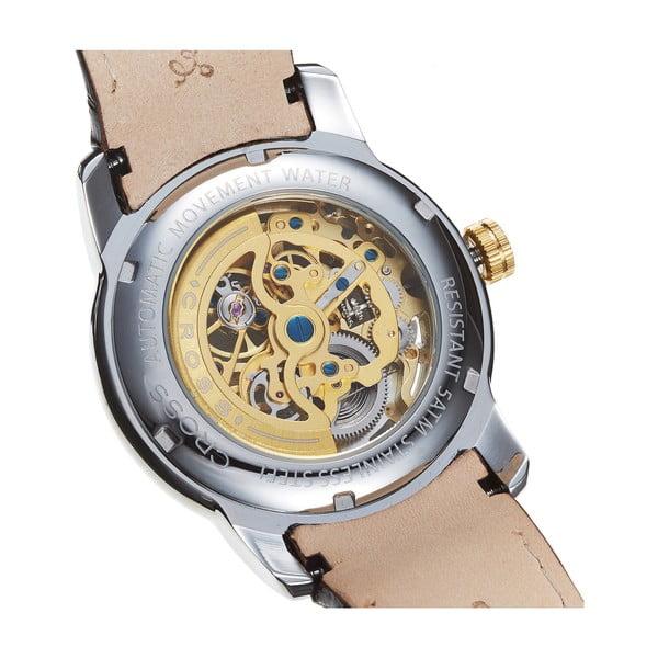 Pánské hodinky Cross Palatino Automatic Silver White, 42 mm