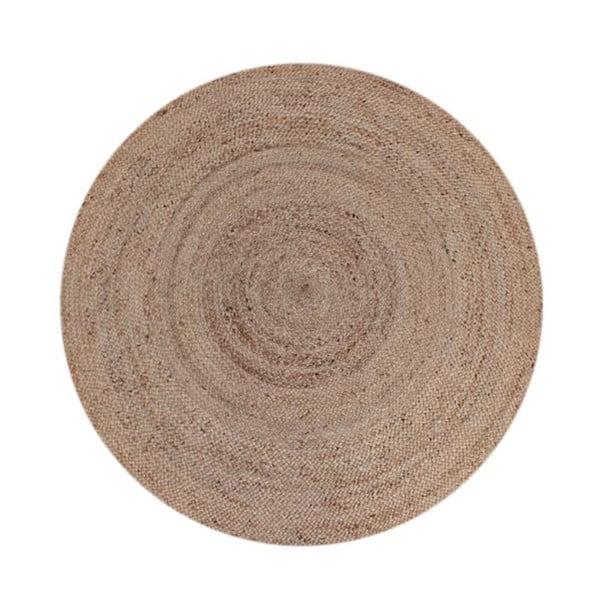 Jutový koberec LABEL51 Rug, ⌀180 cm