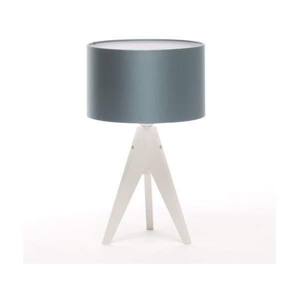 Stolní lampa Artista White/Ice Blue, 28 cm
