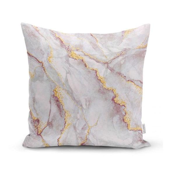 Față de pernă Minimalist Cushion Covers Elegant Marble, 45 x 45 cm