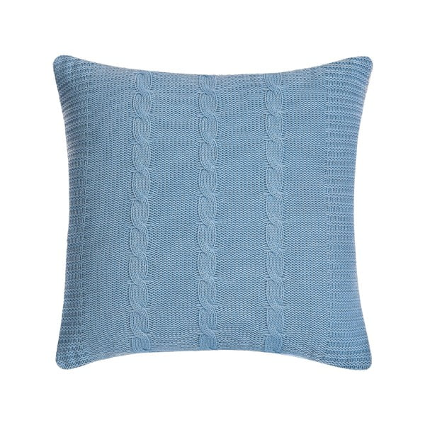 Polštář s výplní Fancy Light Blue, 43x43 cm