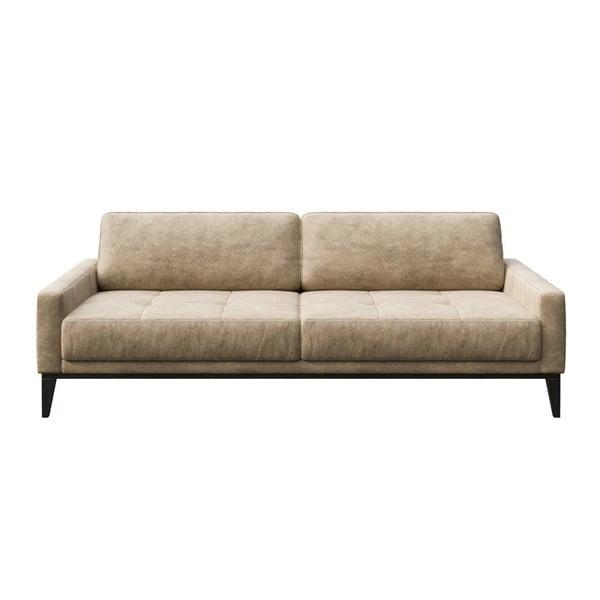 Canapea cu 3 locuri MESONICA Musso Tufted, bej
