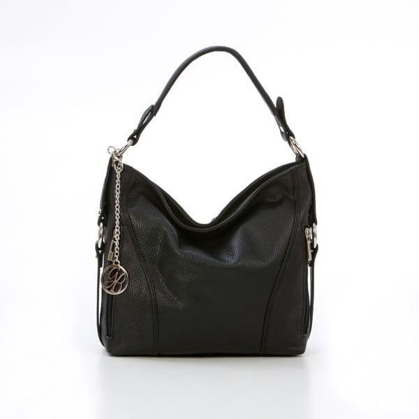 Kožená kabelka Pedro, černá