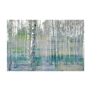 Obraz Marmont Hill Teal Tree Forest, 45 x 30 cm