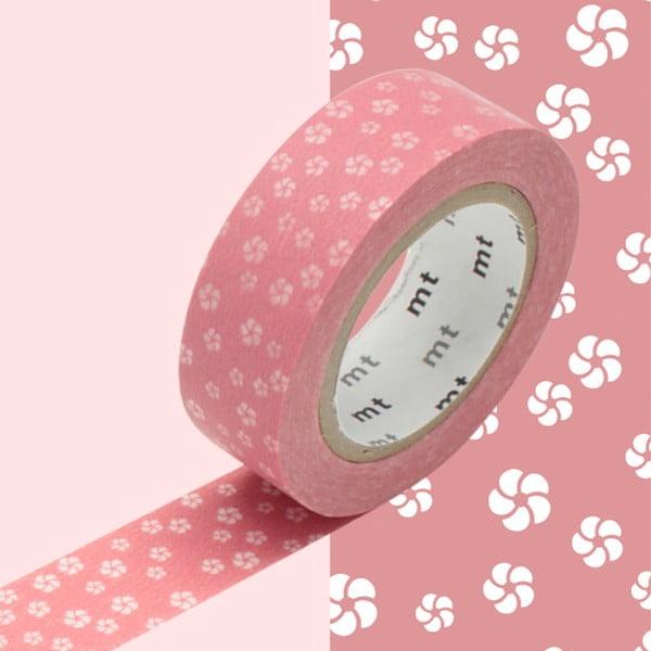 Taśma dekoracyjna washi MT Masking Tape Sibylle, dł.10m