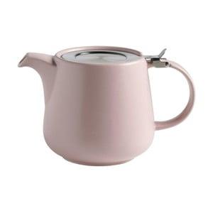 Růžová keramická konvice se sítkem na sypaný čaj Maxwell&Williams Tint, 1,2l