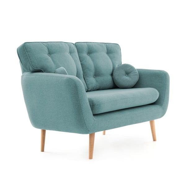 Canapea cu 2 locuri Vivonia Malva, albastru