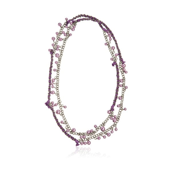 Lynn ezüstszínű nyaklánc - NOMA