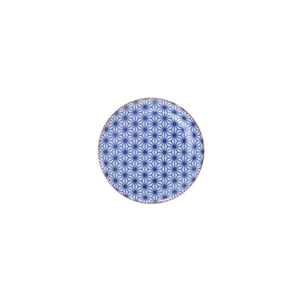 Malý modrý porcelánový talíř Tokyo Design Studio Star, ⌀16cm Tokyo Design Studio