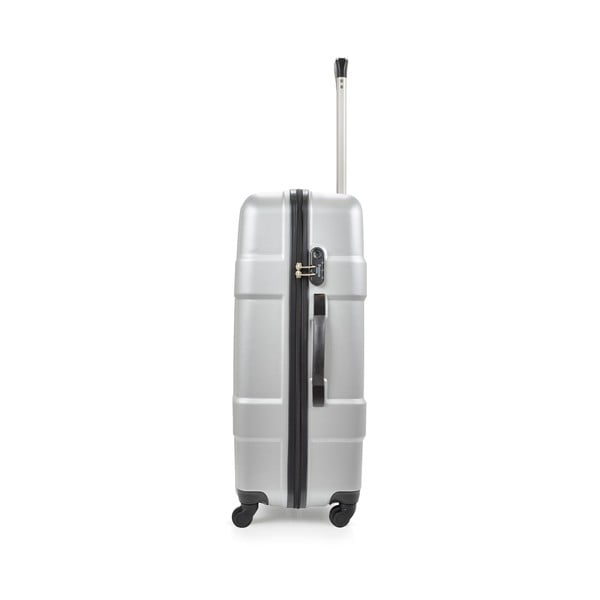 Kufr Luggage Silver, 75 l