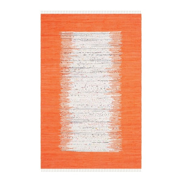 Covor Safavieh Saltillo Orange, 182 x 121 cm
