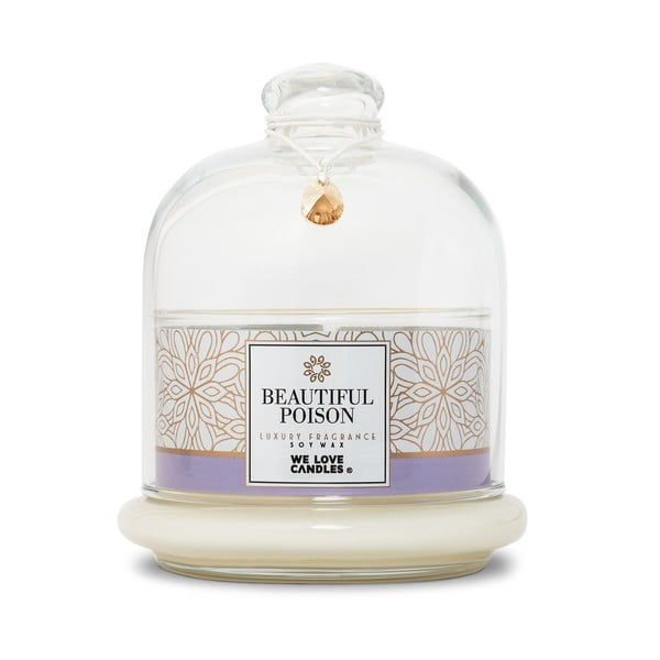 Lumânare din ceară de soia We Love Candles Beautiful Poison, 72 ore de ardere