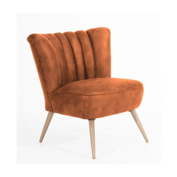 Alessandro konyakbarna fotel - Max Winzer