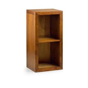 Knihovna ze dřeva mindi Moycor Star, výška 90 cm