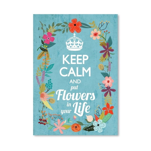 Plakát od Mia Charro - Keep Calm
