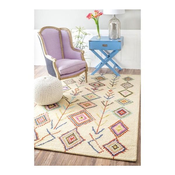 Vlněný koberec Aztec Mayo, 120x183 cm