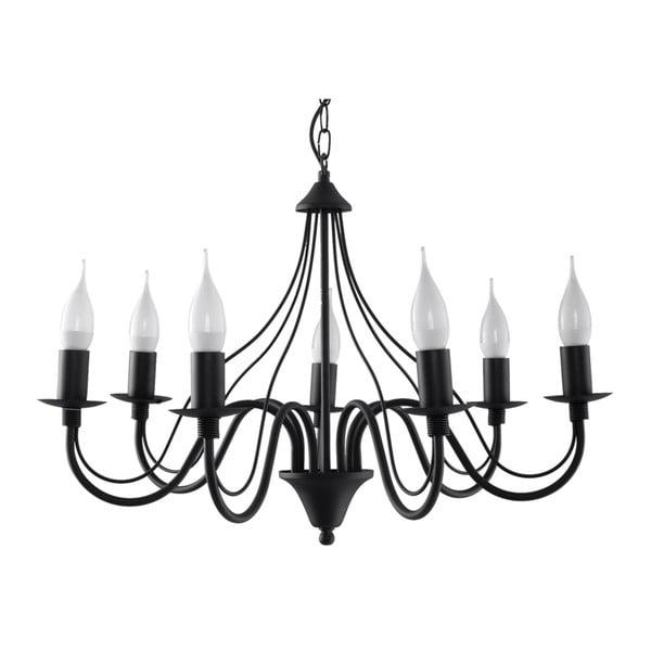 Lustră Nice Lamps Floriano 7, negru