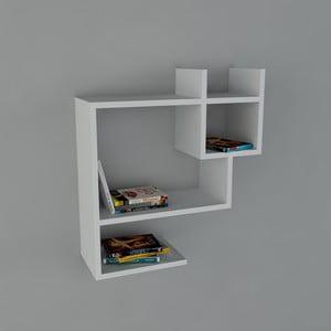 Police Puss Book White, 22x60x65,5 cm