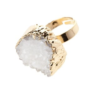 Dámský prsten ve zlaté barvě NOMA Marjorie