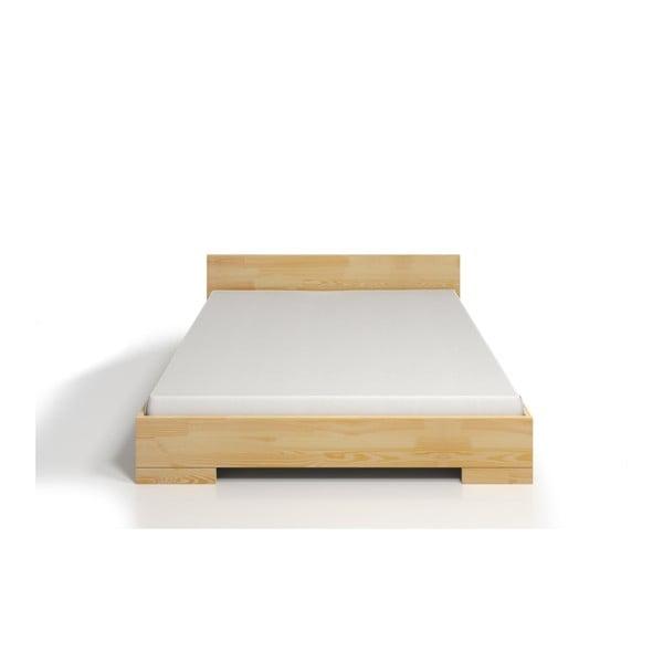 Pat dublu din lemn de pin SKANDICA Spectrum Maxi, 200 x 200 cm