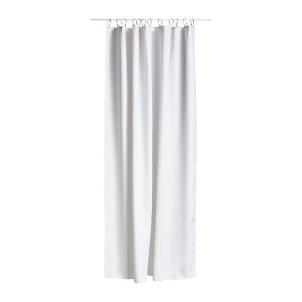 Biely sprchový záves Zone Lux