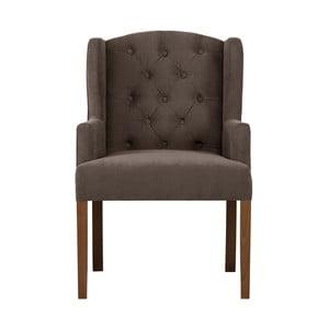 Hnědá židle Rodier Liberty