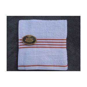 Ručník Rio Negative Orange/White Stripes, 30x50 cm