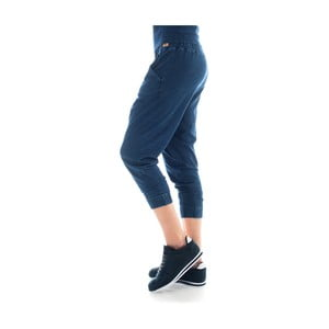 Pantaloni de trening din bumbac Lull Loungewear Jaden, măr. S, indigo