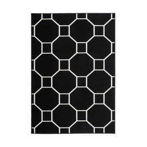Černo-bílý koberec Kayoom Sentosa Elfe,80x150cm