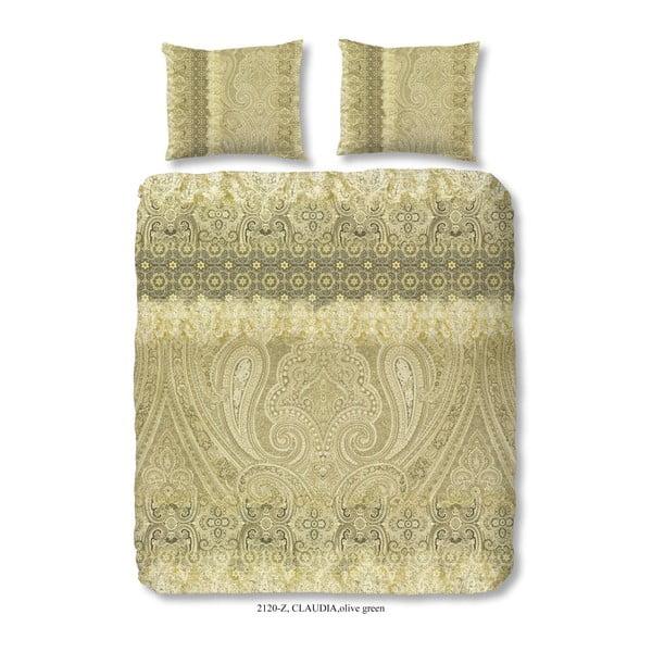 Povlečení na dvoulůžko z bavlněného saténu Muller Textiels Pakino, 200 x 240 cm