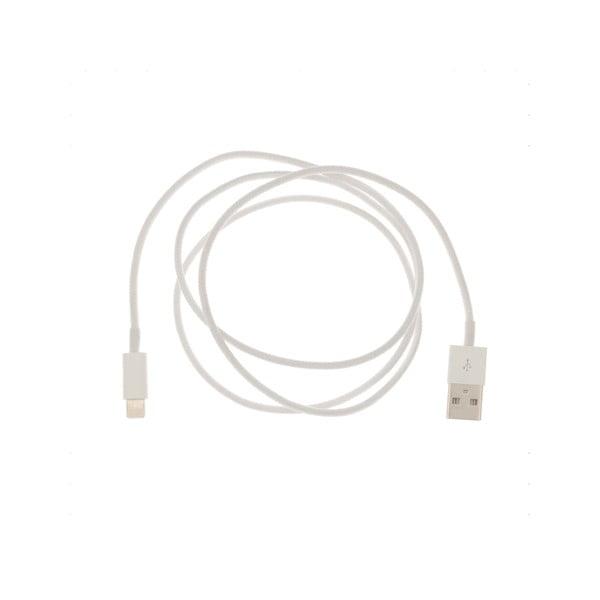 USB kabel pro iPhone 5, bílý