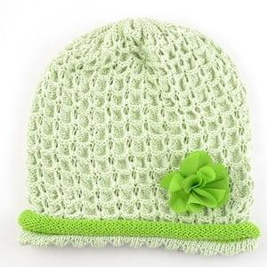 Dívčí čepice Rulon, zelená