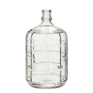 Skleněná váza J-Line Check, 27 cm