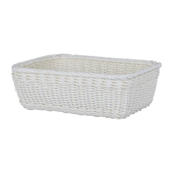 Košík White 25,5 x 18 cm