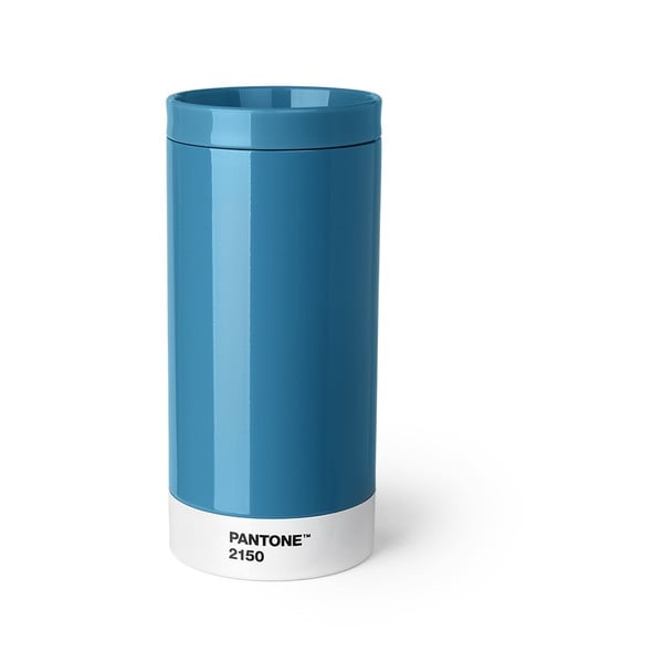 Cană călătorie Pantone, 430 ml, albastru
