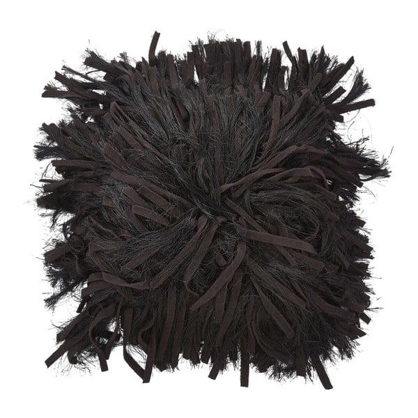 Polštář Adoxa Black, 45x45 cm