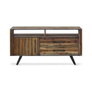 TV komoda z masivního akáciového dřeva Massive Home Robbie, 150 x 75 cm