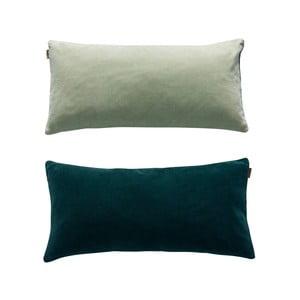Zelený oboustranný bavlněný polštář OYOY Lia