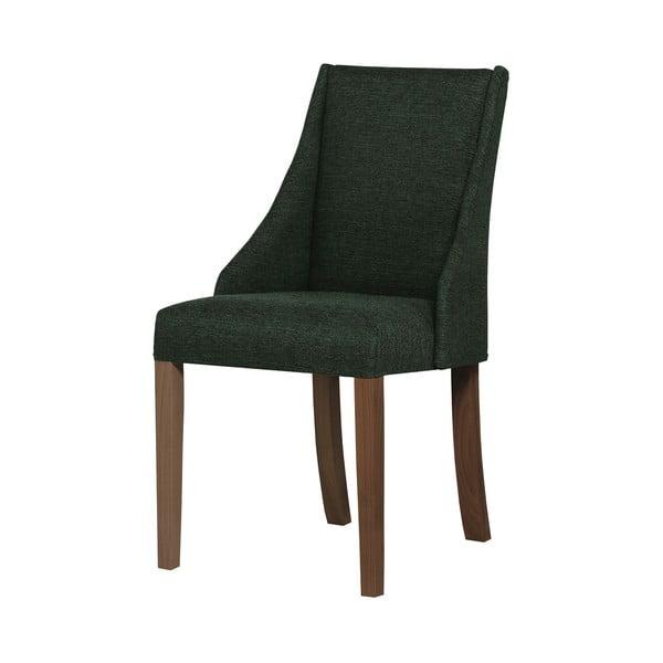 Absolu sötétzöld bükk szék sötétbarna lábakkal - Ted Lapidus Maison