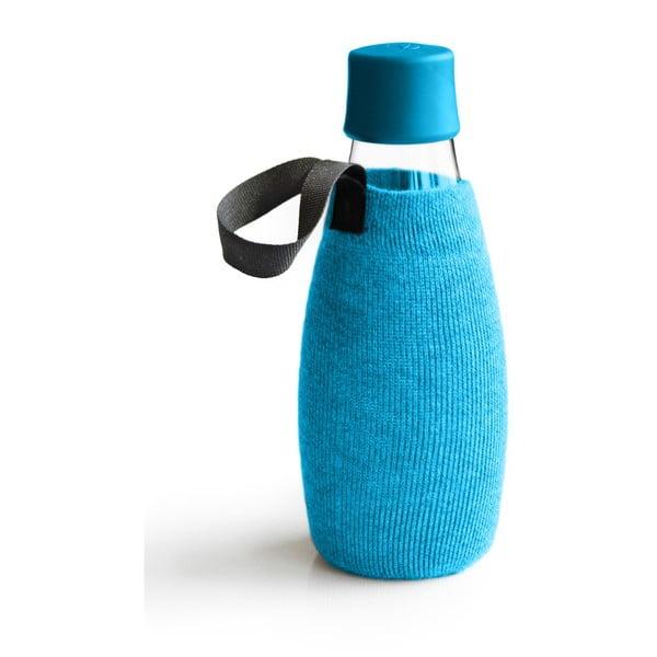 Husă pentru sticlă cu garanție pe viață ReTap, 500 ml, albastru deschis