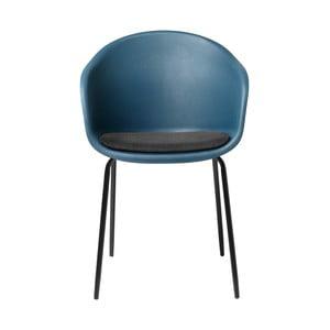 Scaun Unique Furniture Topley, albastru-gri