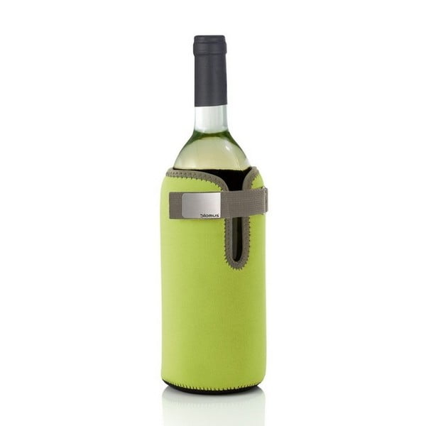 Chladící límec na lahev, zelený