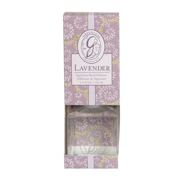 Dyfuzor o zapachu lawendy Greenleaf Signature Lavender, 124 ml